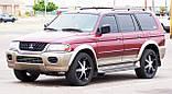 Захист картера двигуна і кпп Mitsubishi Pajero Sport 2000-, фото 9