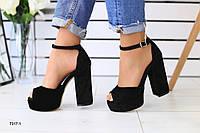 Женские босоножки на каблуке 35