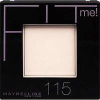 Матирующая пудра Maybelline New York Fit Me № 115, 9 g.