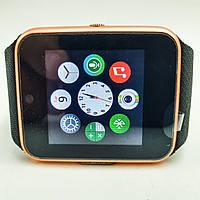 Умные смарт часы телефон камера microSD Smart Watch Phone GT08 Black золотые, фото 1