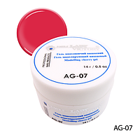 Гель Lady Victory AG-07 - 14 г, для дизайна ногтей (Вишневый),