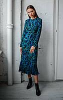 Романтическое женское платье миди, фото 2
