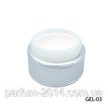 Гель Lady Victory GEL-03 - 30 г, для моделювання нігтів (Білий),