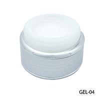 Гель Lady Victory GEL-04 - 50 г, для моделирования ногтей (Прозрачный),
