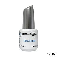 Гель Lady VictoryGF-02 - 14 мл, для френча (Белый),