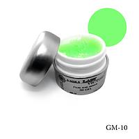 3D-гель Lady Victory (гель для лепки) GM-10 - 7 г, (Ярко-зеленый),