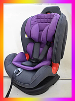 Детское автокресло от 0-7 лет, группа 0+/1-2 El Camino Talisman ME 1065 PURPLE фиолетовый