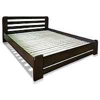 """Ліжко """"Делі"""", бук, коричневий"""