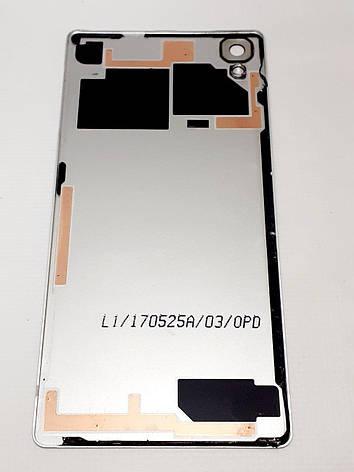 Задняя крышка корпуса  Sony Xperia X F5121, Xperia X Dual F5122 Silver оригинал  , сервисная, фото 2