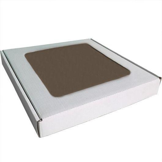 Коробка для упаковки пряников с окошком 15х15,5х2,6 см