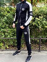 Спортивный костюм Miracle Triangle черно-белый