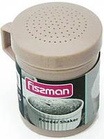 Шейкер Fissman для сахарной пудры, аквамариновый