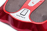 Массажер для ног с нефритовыми роликами и инфракрасным прогревом Zenet ZET-761, фото 4