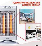 Инфракрасный карбоновый обогреватель Zenet ZET-502, фото 8