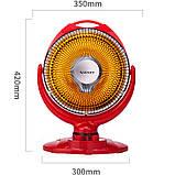 Інфрачервоний галогенний обігрівач Zenet ZET-514, фото 9