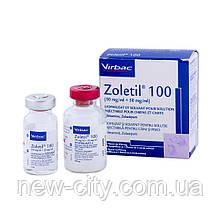 Zoletil (Золетил) 100 5мл Virbac Франция