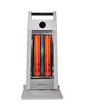Инфракрасный карбоновый обогреватель. Белый, для помещений до 30кв.м. Zenet ZET-507