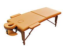 Массажный стол переносной. Песочный, размер M (185*70*61). ZENET ZET-1042