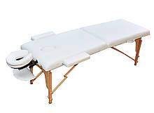 Массажный стол раскладной. Белый, размер S (180*60*61). ZENET ZET-1042