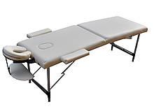 Массажный стол с вырезом для лица. Кремовый, размер S ( 180*60*61).  ZENET ZET-1044