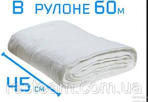 Рушники вафельні 60 м рулон (щільність 180)