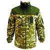 Кофта військова чоловіча флісова Тактична кофта ZaMisto Поліестер Камуфляж (ЗМ zm_jacket) 44-46