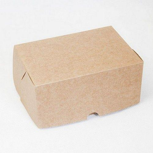 Коробка на 2 кекса Крафт