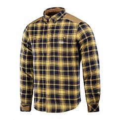 M-Tac рубашка Redneck Shirt Navy Blue/Yellow 2XL/R
