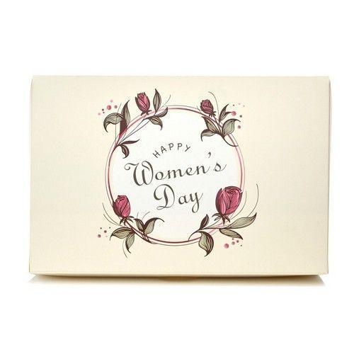 Коробка для эклеров Happy Women's Day, 225x150x60см