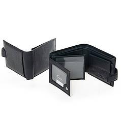 Кошелек мужской кожаный с откидными блоками для карт Dr. Bond M2 черный