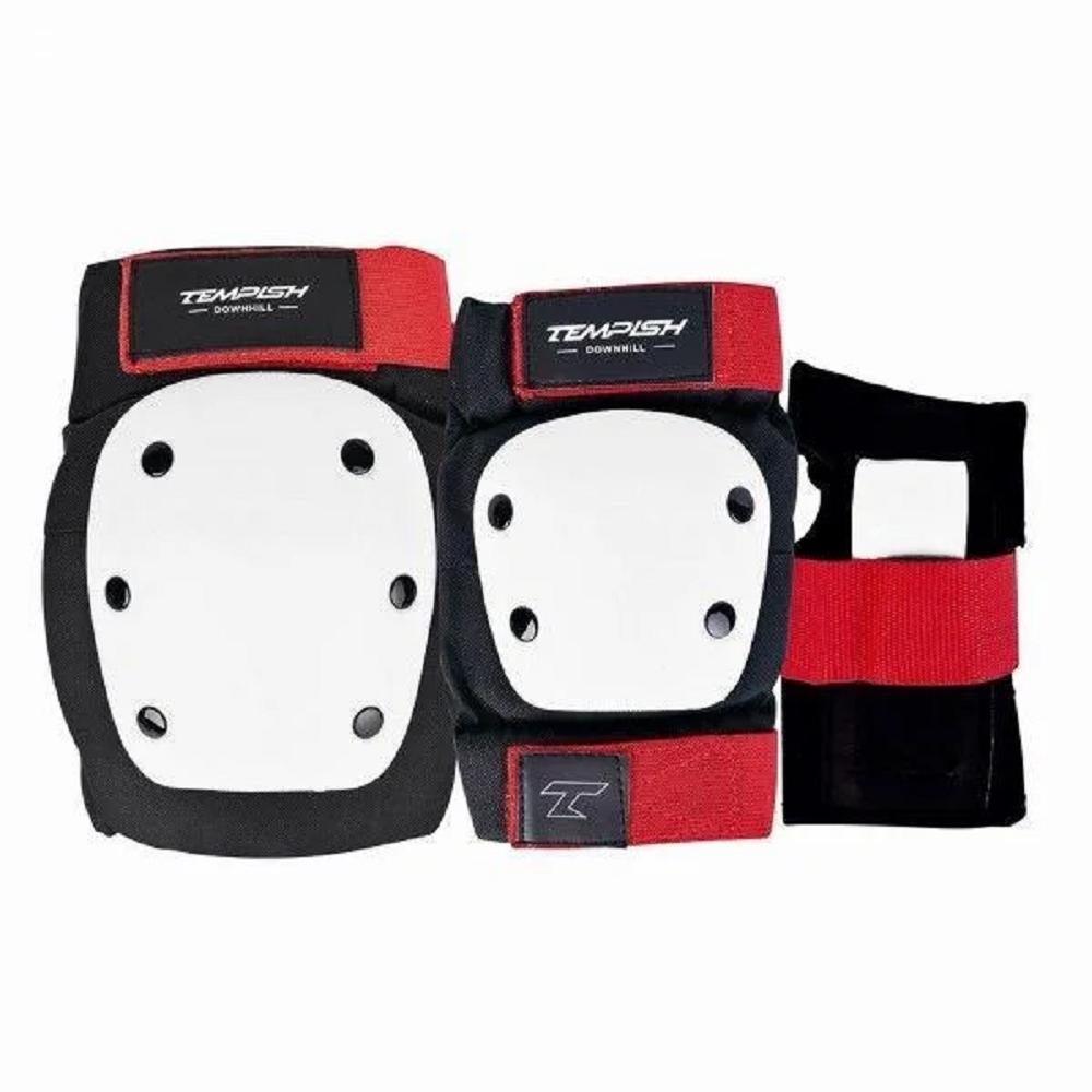 Комплект защиты (роликовые коньки) Tempish DOWNHILL (набор 6 предметов) S