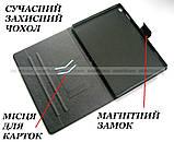 Бирюзовый чехол с рисунком для девушки на Lenovo Tab M10 HD tb-x505L X505F X605L, фото 2