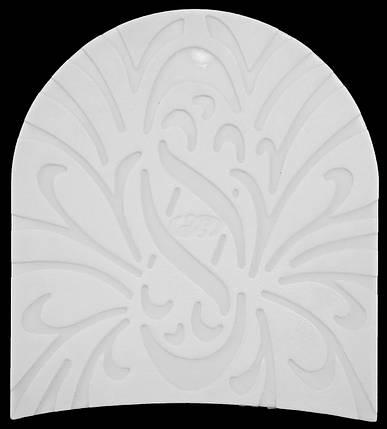 Набойка полиуретановая № 08В (Латвия) белый, фото 2