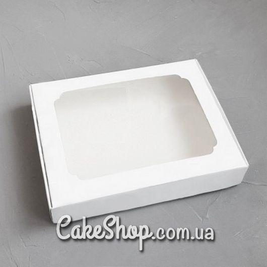 Коробка для пряников, белая, 15*20*3 см
