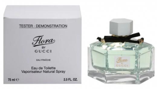 Тестер женский Gucci Flora by Gucci Eau Fraiche EDT, 75 мл