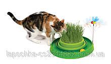 Игрушка для кошек Hagen Catit 3in1 игровой круг с мини-садом