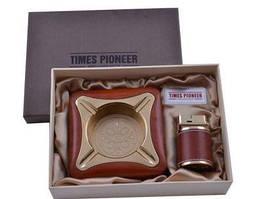 Подарочный набор Pioneer 2в1 пепельница и зажигалка №3622