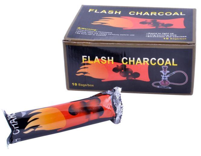 Уголь для кальяна FLASH CHARCOAL №C-2