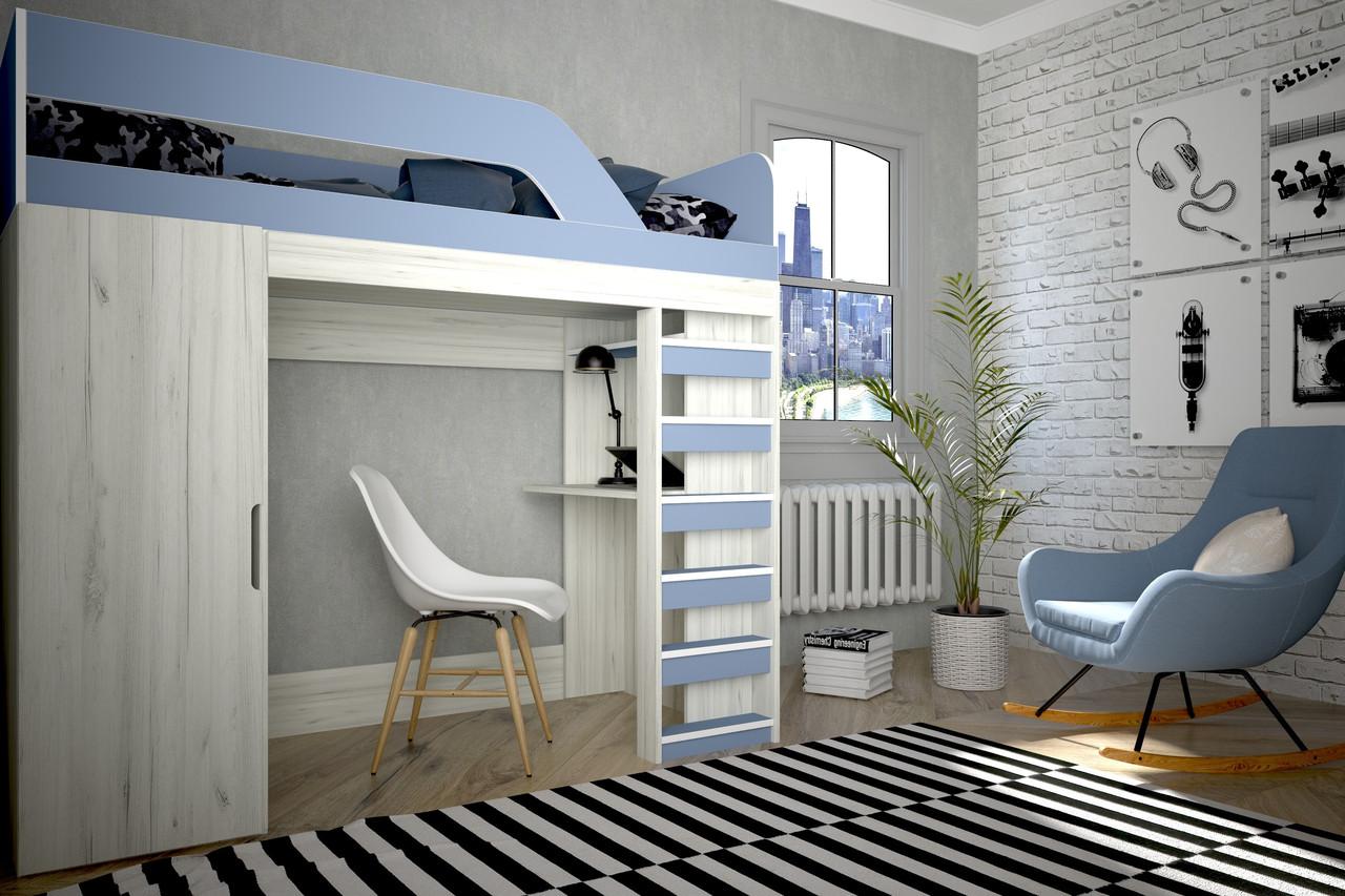Кровать Нью-Йорк 2(Лион)