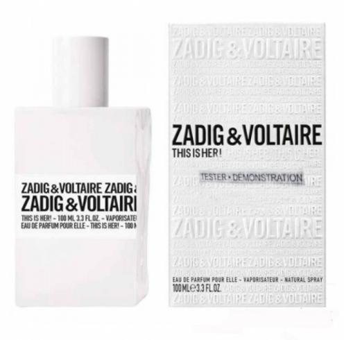 Тестер женский Zadig&Voltaire This is Her,100 мл