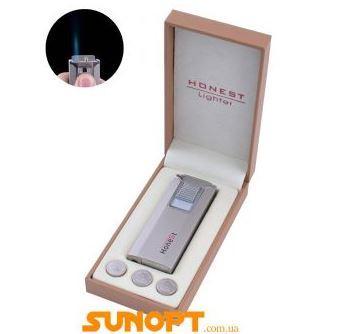 Зажигалка электронная в подарочной упаковке Honest (Острое пламя) №XT-3544