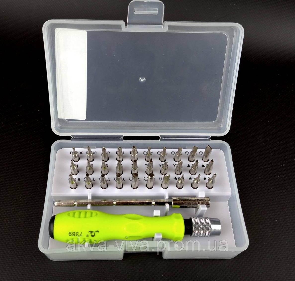 Набор отверток для ремонта телефонов и компьютеров 32 в 1 (НИ-2032)