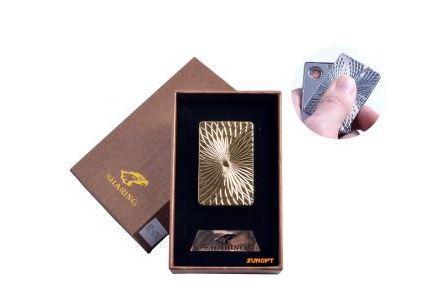 Зажигалка подарочная SHARING (спираль накаливания, USB) №4701-5