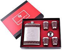 Подарочный набор с флягой Орел (Кожа) №GT-19-17