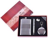 Подарочный набор 4в1 Moongrass Фляга/ Стакан-брелок/ Ручка/ Лейка