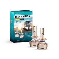 Светодиодные лампы H7 Carlamp Truck Vision Led для грузовых авто 3500LM 6000K (TVH7)