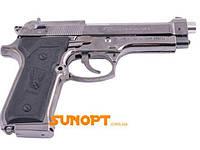 Зажигалка сувенирная Пистолет в Кобуре М-9 (Турбо пламя) №XT-3728, фото 1