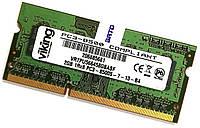 Оперативная память для ноутбука SODIMM DDR3 2Gb 1066MHz 8500S 1R8 CL7 Б/У MIX, фото 1