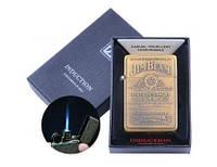 Зажигалка электронная Jim Beam (Острое пламя, Gold) №4325