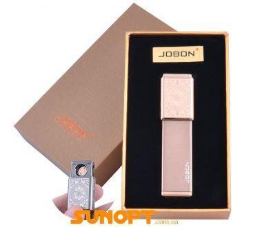 USB зажигалка в подарочной упаковке Jobon (Двухсторонняя спираль накаливания) №XT-4875-3